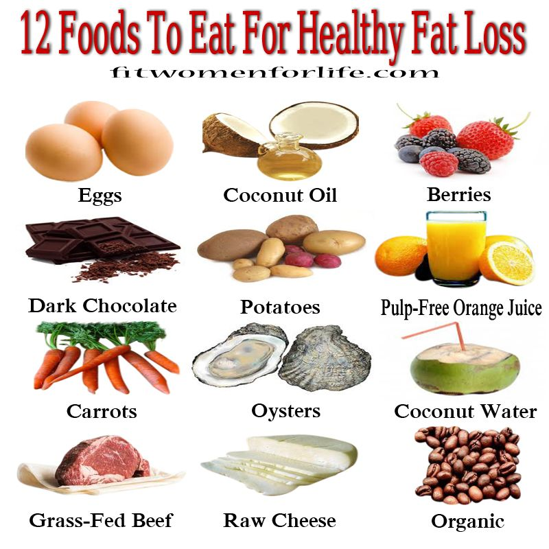 12 Foods to Eat for Healthy Fat Loss Best weight loss