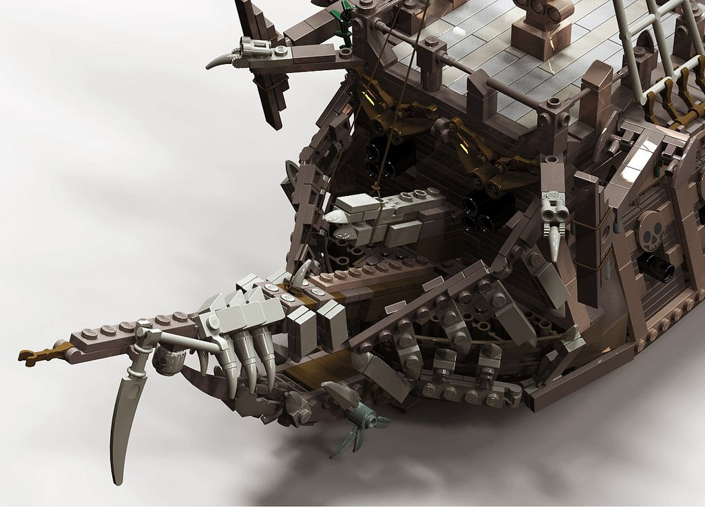 flying dutchman for potc game lego boats ships. Black Bedroom Furniture Sets. Home Design Ideas