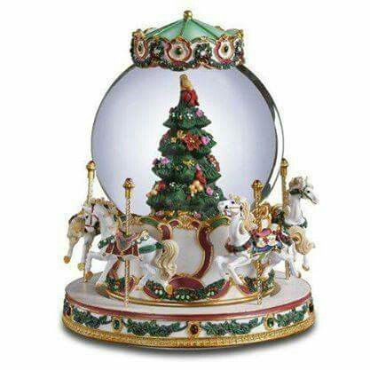 Music box NATAL Pinterest Music boxes - christmas carousel decoration