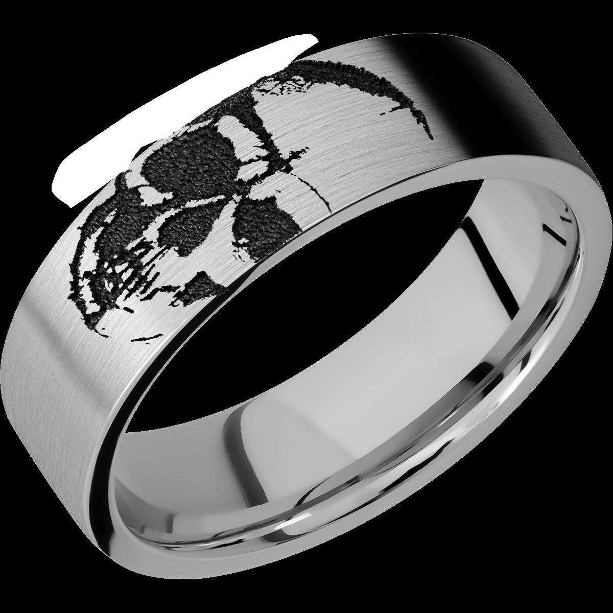 The Skully Skull Titanium Men's Wedding Band in 2020