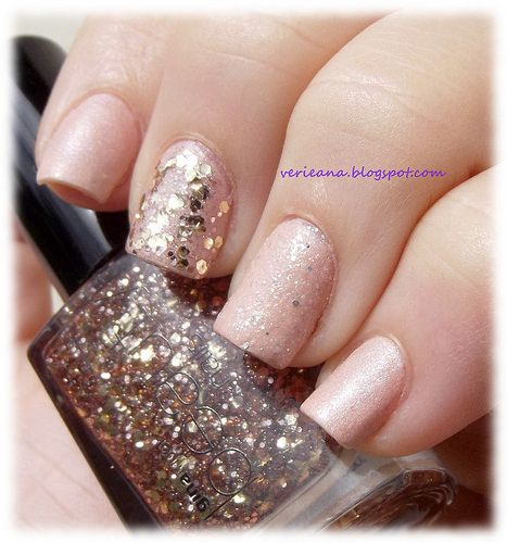 #essence Engaged with Hey, Nude! & #ginatricot Rose glitter
