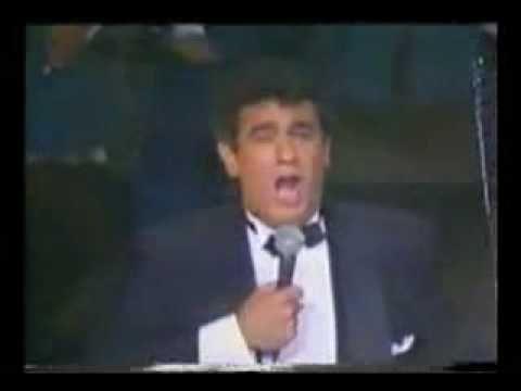 placido domingo le canta maria bonita a la doña maria felix