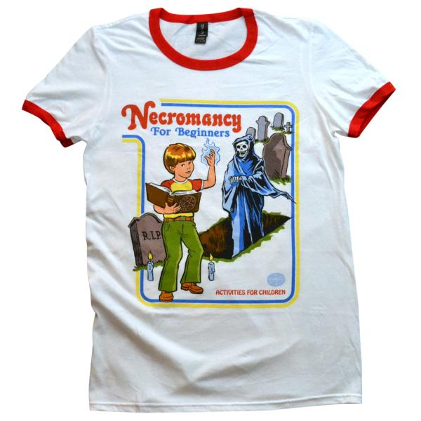Necromancy For Beginners Ringer Shirt In 2019 Pleaseee Shirts