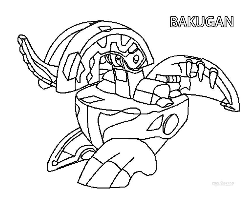 Bakugan Coloring Pages Online Coloring Pages Cartoon Coloring