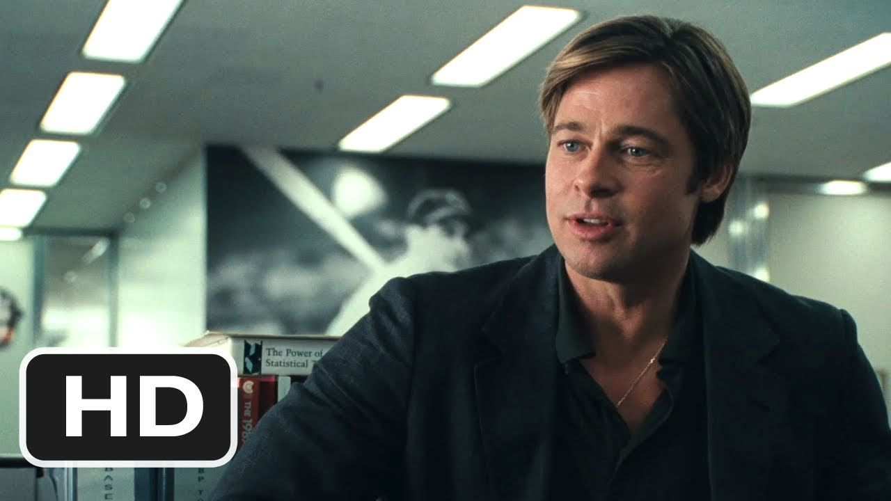 Moneyball Is Now The 2 Top Ranked Movie On Netflix Purewow In 2020 Movie Trailers Brad Pitt 2011 Movies