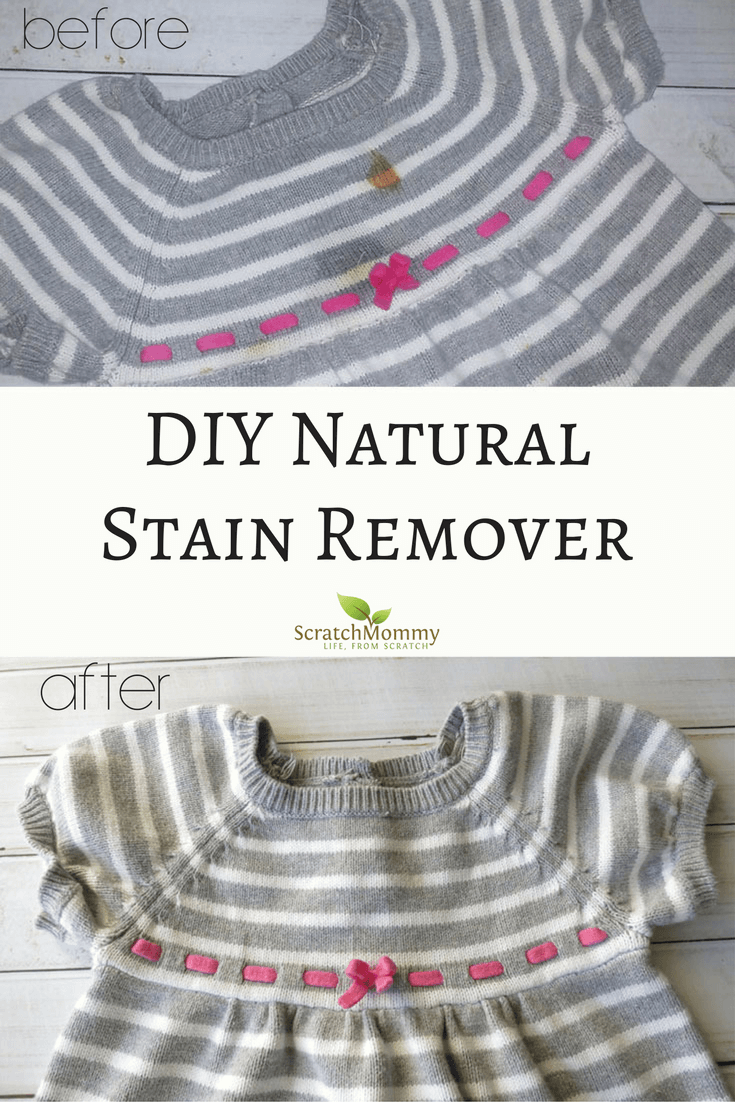 DIY Natural Stain Remover