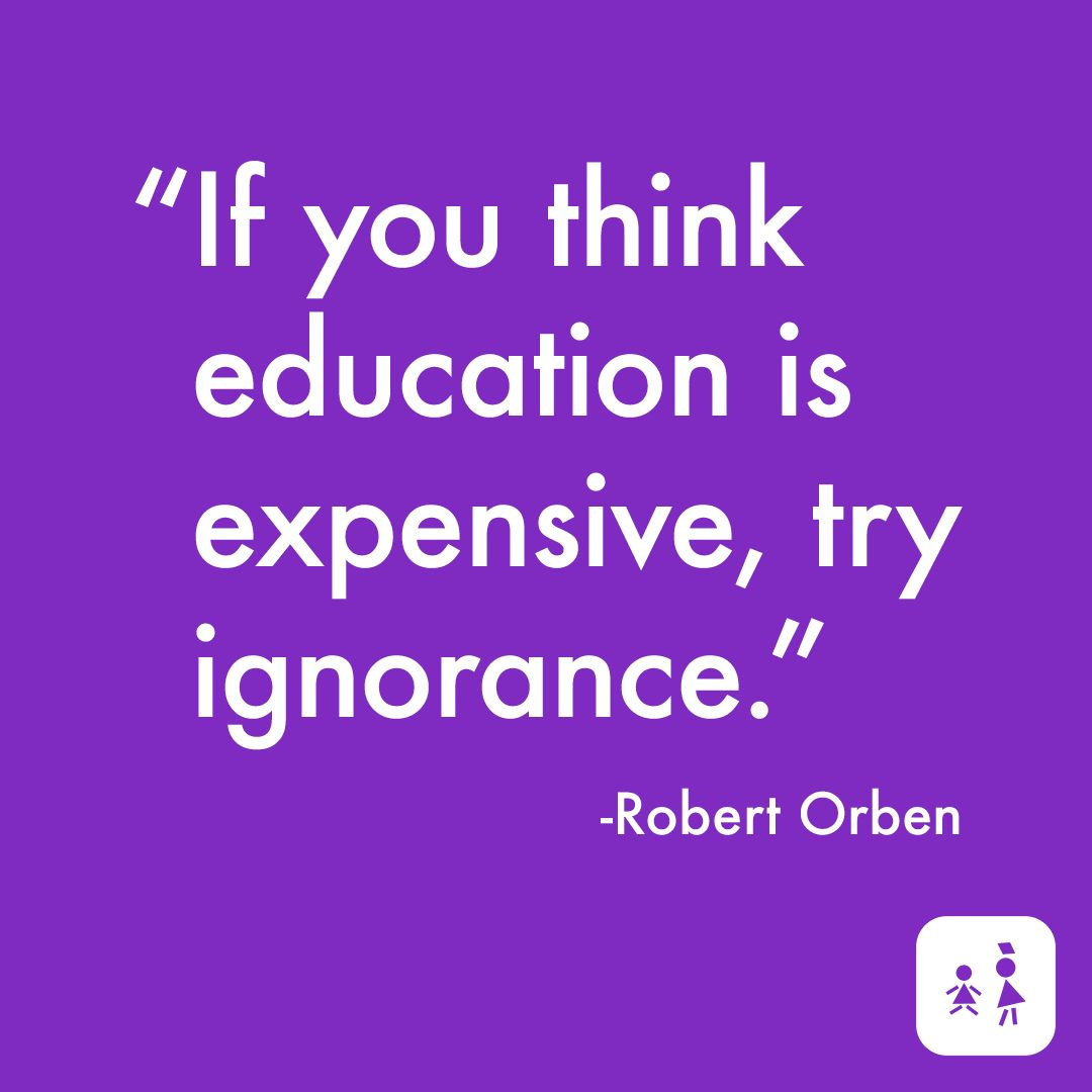 Ignorance is bliss expensive bliss RobertOrben
