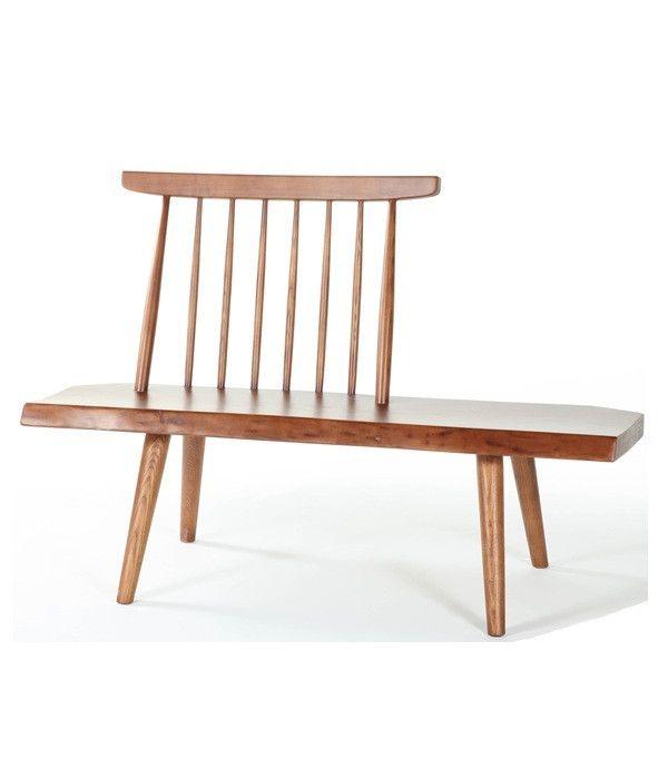 Ash Wood Bench Chair Stoelen Meubels Voor Het Huis