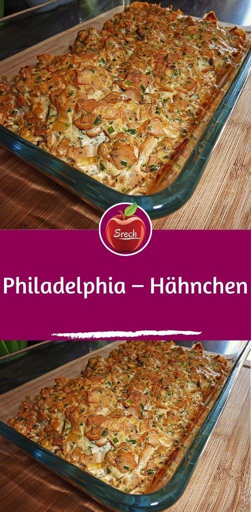 Philadelphia – Hähnchen #frischkäseselbermachen
