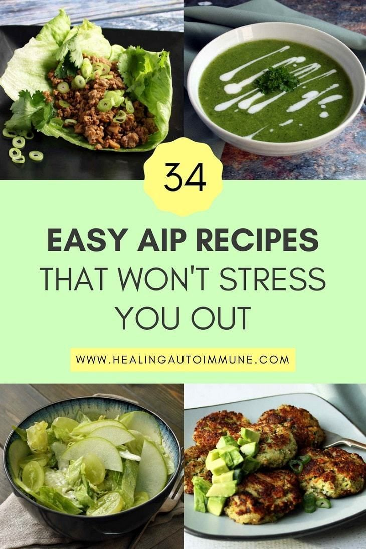 34 Easy AIP Recipes