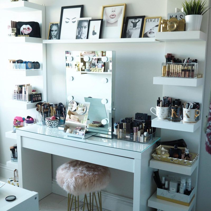 Beauty Room Tour Kasie Beauty Room Decor In 2019