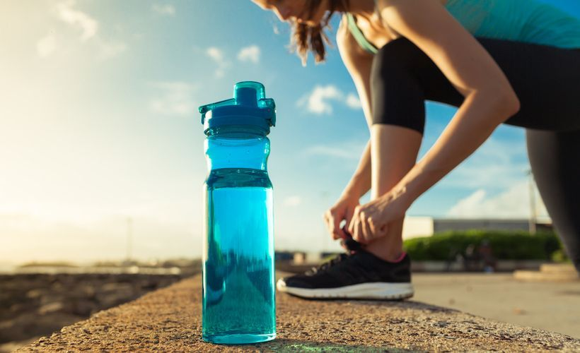 How much water do runners really need during the summer