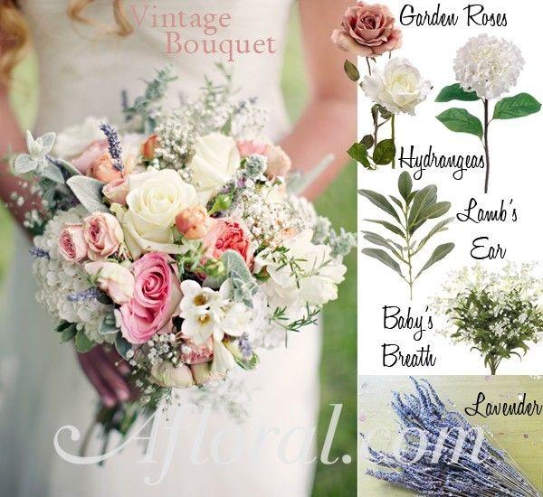 Pastel Vintage Wedding Flowers ~ Emily\'s Inspiration Board | Flowers ...