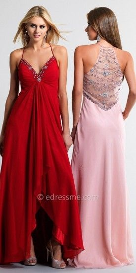 d7d7559cd43c3 Gathered Front Prom Dresses By Dave and Johnny |