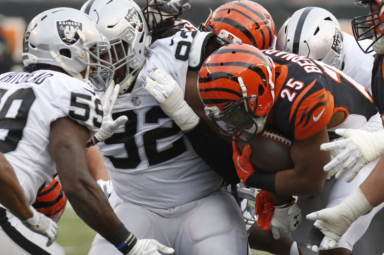 Betting Lines for Week 11 BengalsRaiders Game Usa today