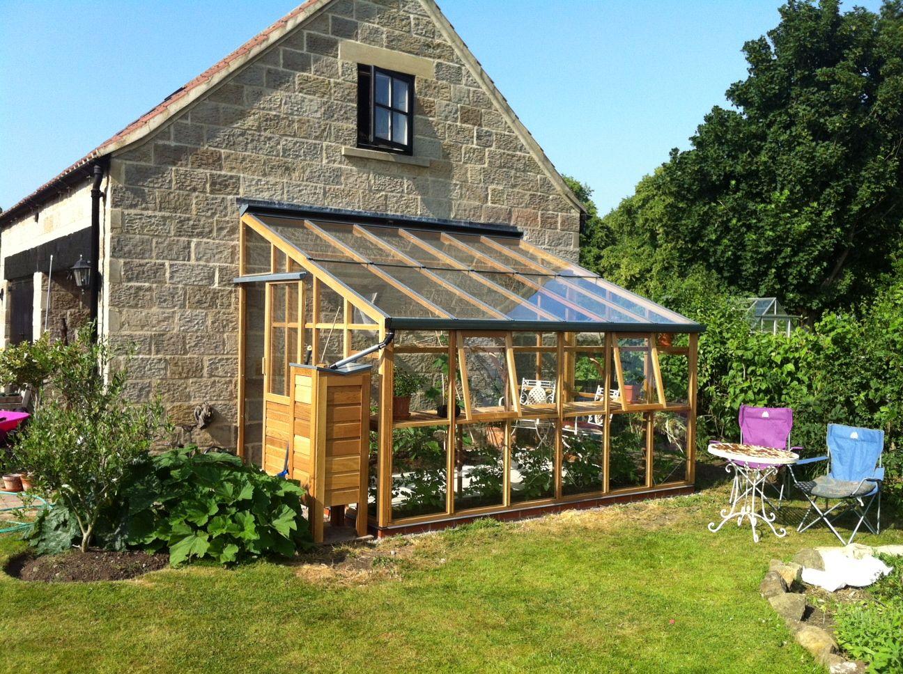 Classic Leanto Serre Jardin Maison Verte Serre Bioclimatique