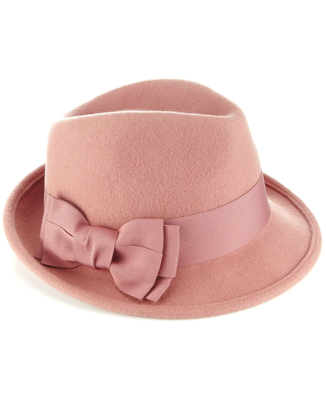 Grosgrain Bow Trilby | Pink | Accessorize | Oon kolmesti meinannut ostaa tän hatun, mutta se taitaa olla hintsun liian pieni mun päähän :C Mutta tällainen vastaava hattu ois hirveän ihana