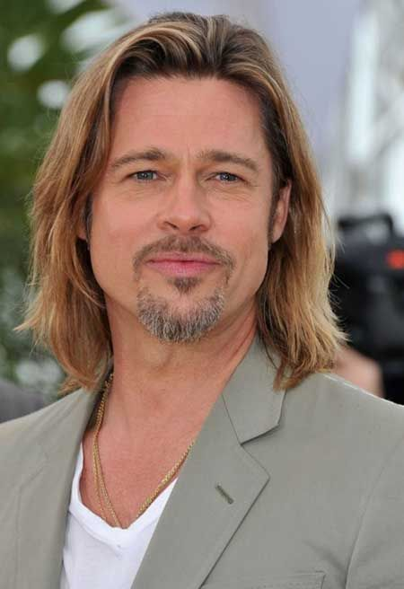 brad pit hair style brad pitt beard 2014 www pixshark images galleries 5802