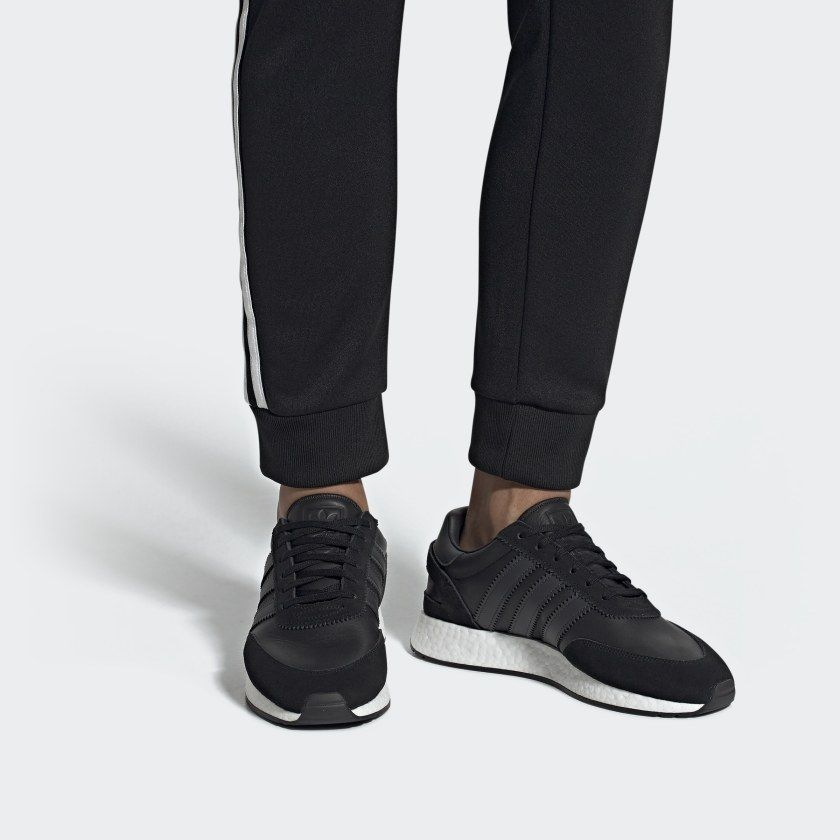 I 5923 Shoes Black Mens | Sneakers, Black shoes, Running