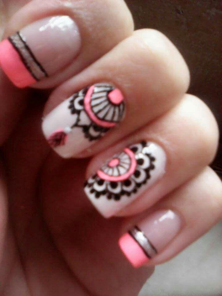 Pin de Camila Abril en Uñas | Pinterest | Diseños de uñas, Manicuras ...