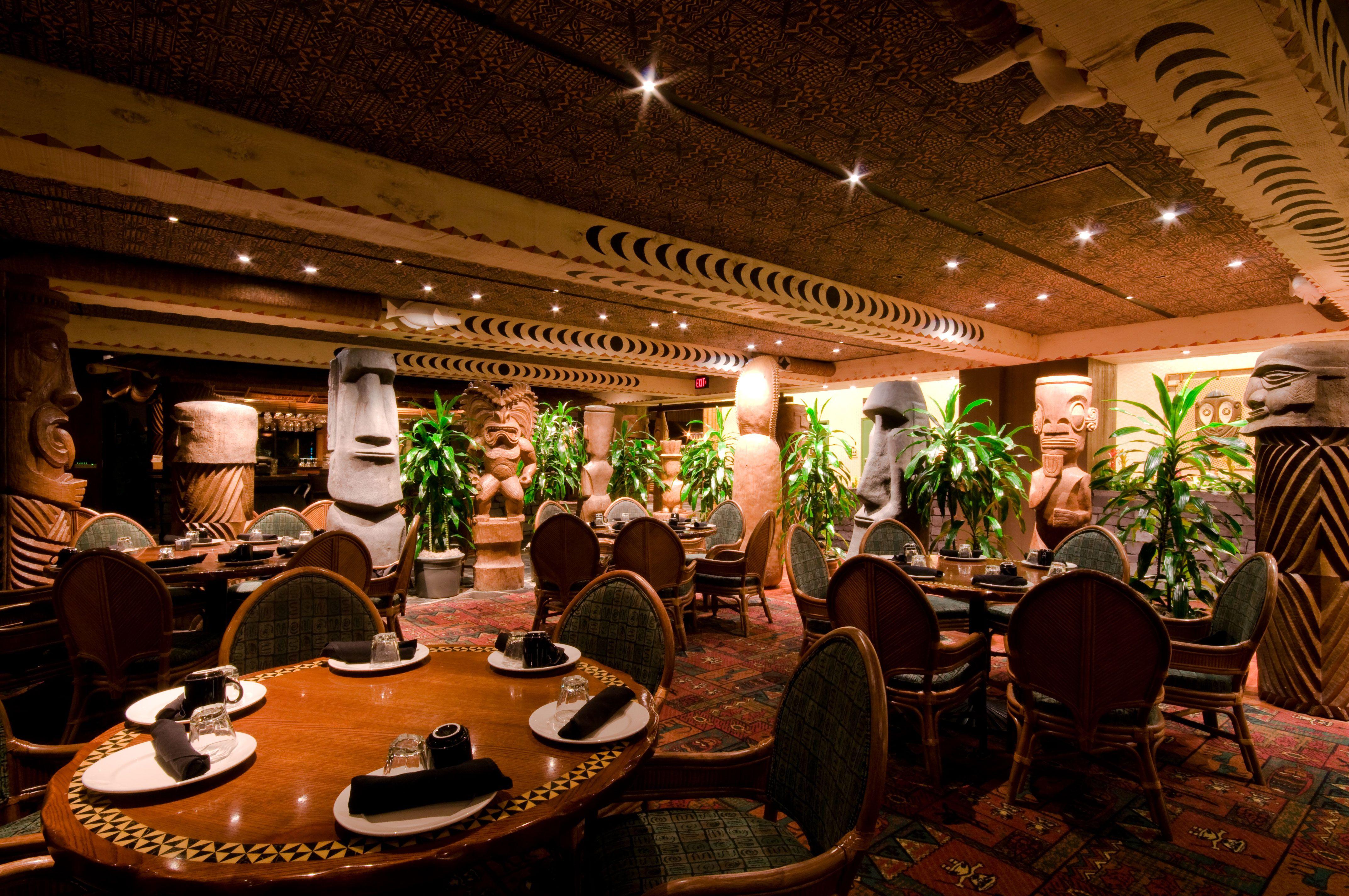 Disney Resort Hotels S Polynesian Ohana Restaurant Walt World
