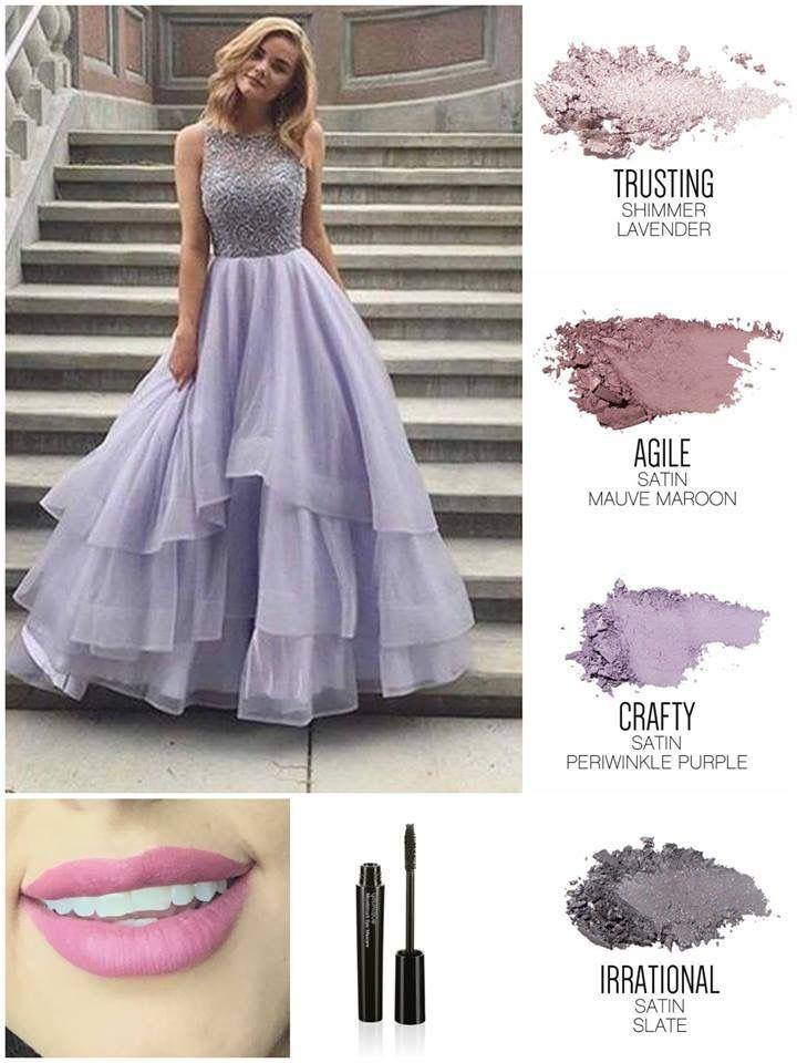 Younique pressed shadows colors quad palette epic mascara prom homecoming dance looks #youniquepressedshadows