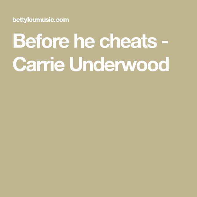 Before He Cheats Carrie Underwood Ukulele Songs Pinterest