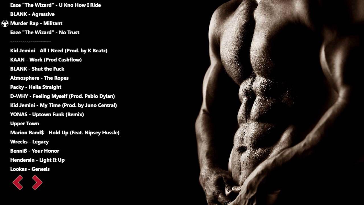 Workout Music - Hip Hop Workout Music - Gym Training Motivation #4