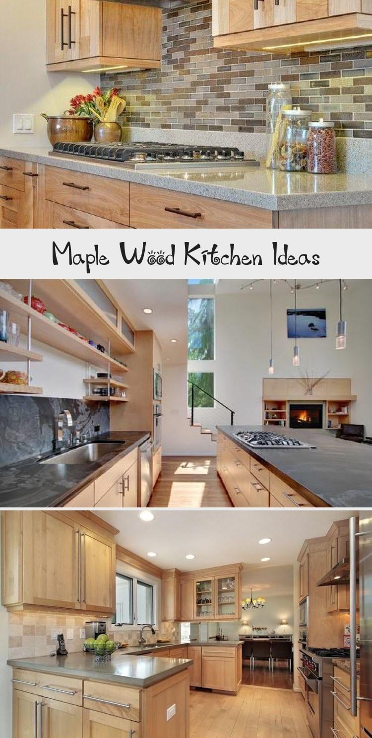 Maple Wood Kitchen Ideas   KTCHN