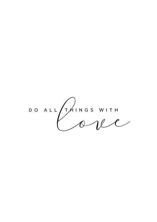 Alles Liebe inspirierende Zitate Wand-Dekor Bibel Vers