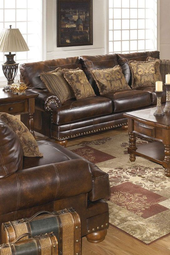 The Rich Contemporary Design Of The Antique Bonded Leather