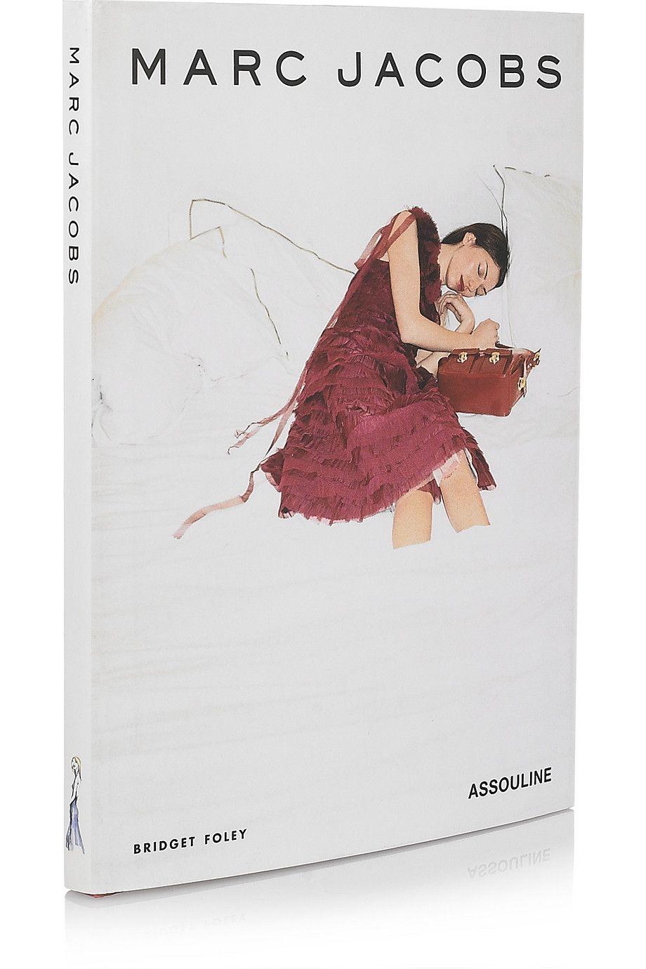 Assouline Books Marc Jacobs By Bridget Foley Hardcover Book
