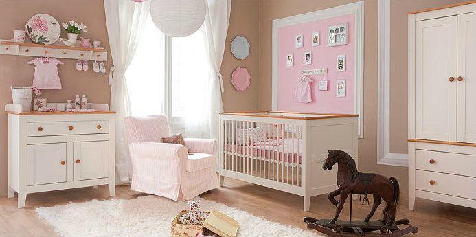 Chambre à coucher bébé | Mobilier chambre à coucher bébé fille ...