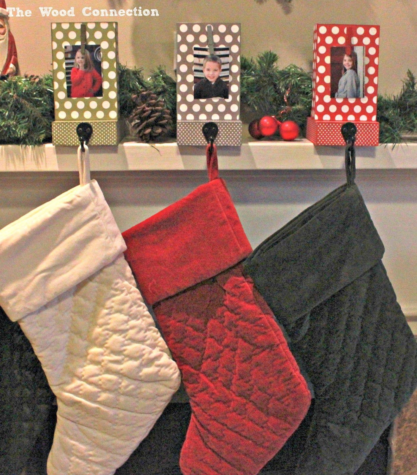 colgadores de colores para nuestros calcetines de Navidad   Ideas ...