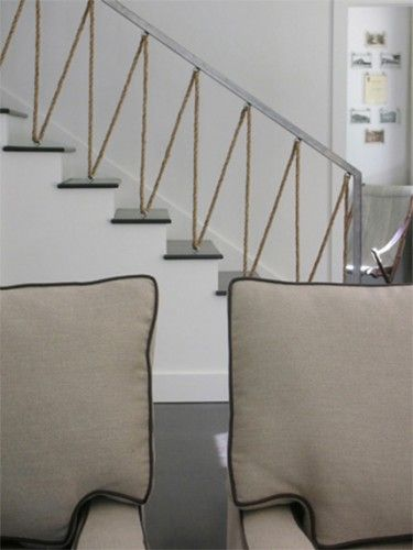 Best Ropes Balusters Staircase Design Interior House Idea 640 x 480