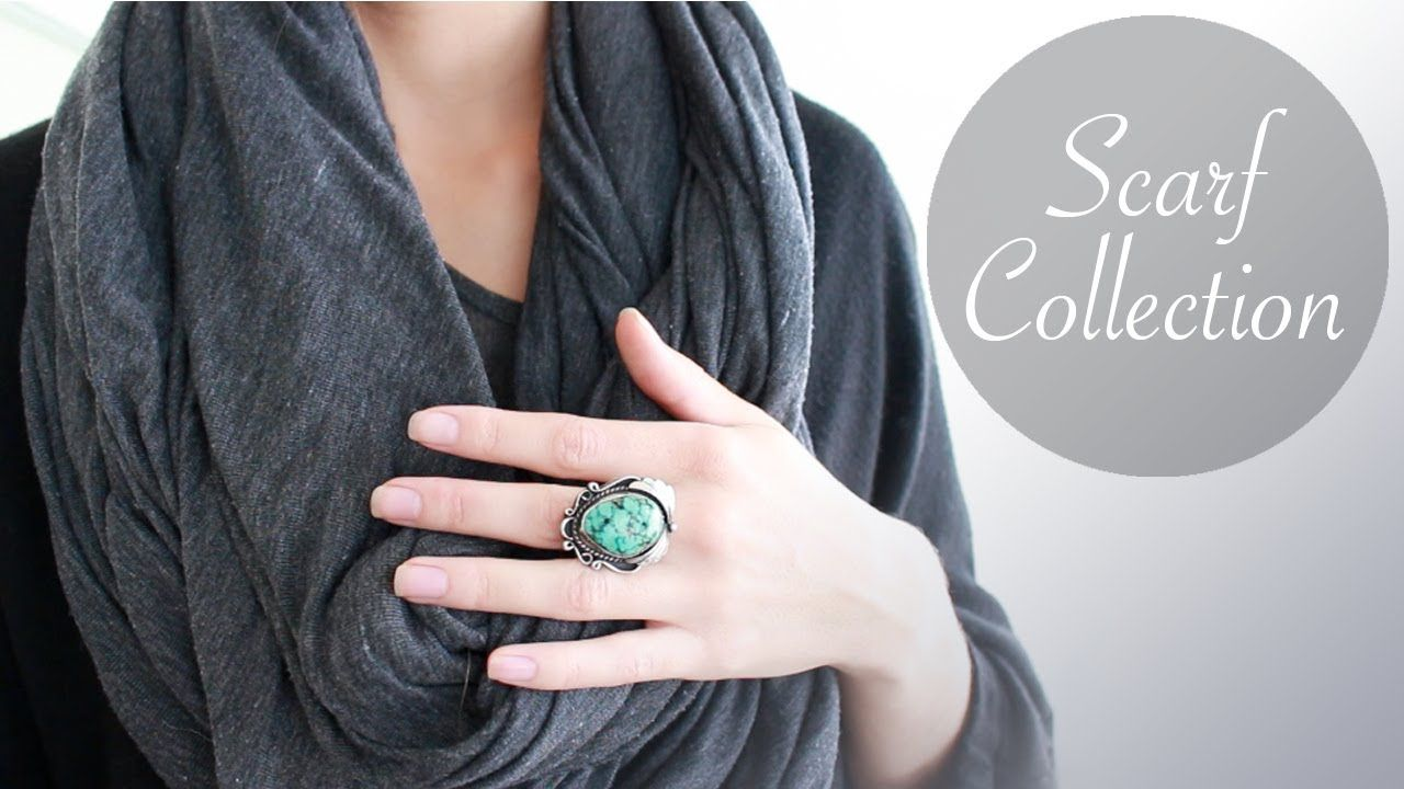 Scarf Collection #Fashion #HolisticHabits