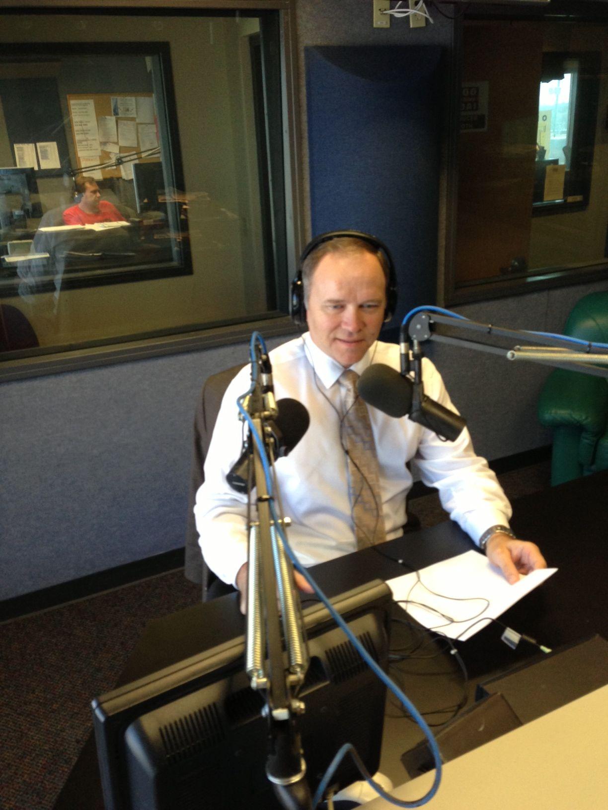 Keith on the Radio