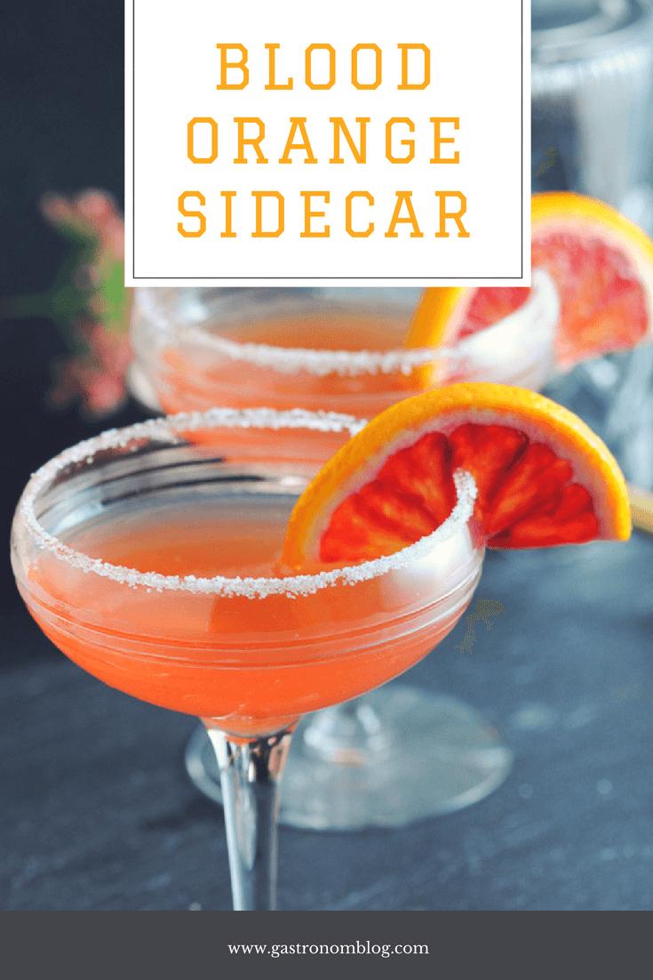Blood Orange Sidecar A Blood Orange And Brandy Cocktail Recipe