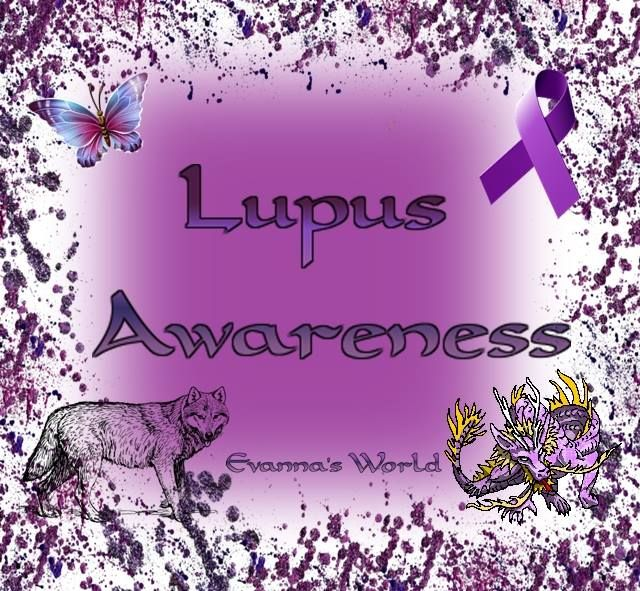 Lupus Awareness Symbols 1 Butterfly 2 Purple Ribbon 3 Wolf 4