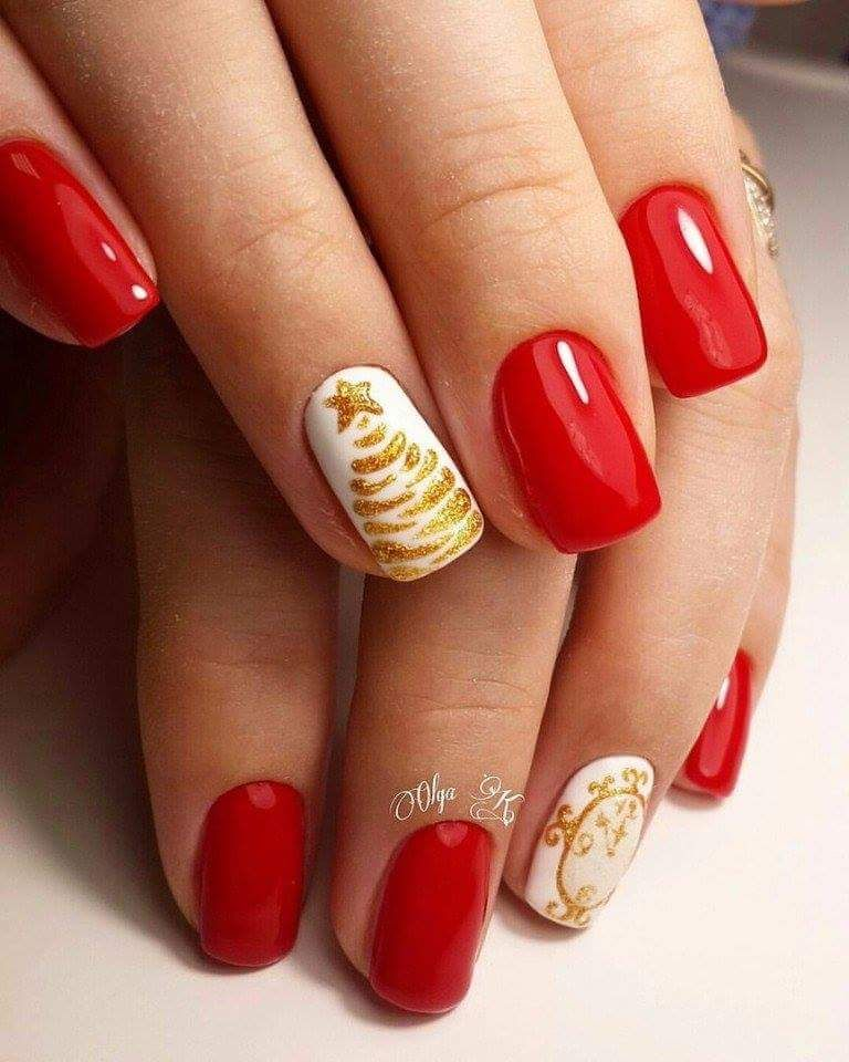 39 Glamorous New Year Nails Art Ideas for You to Try | Color nails ...