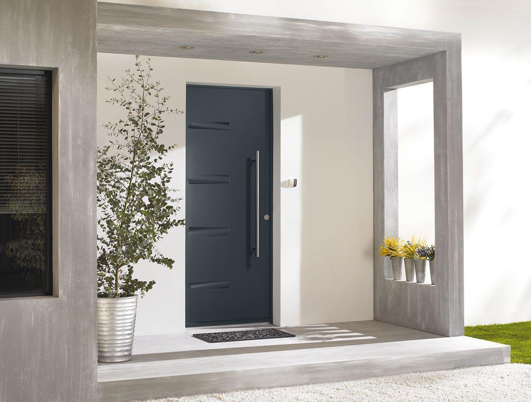 Porte d\'entrée acier Zilten modèle Nagano | Portes d\'entrée Acier ...
