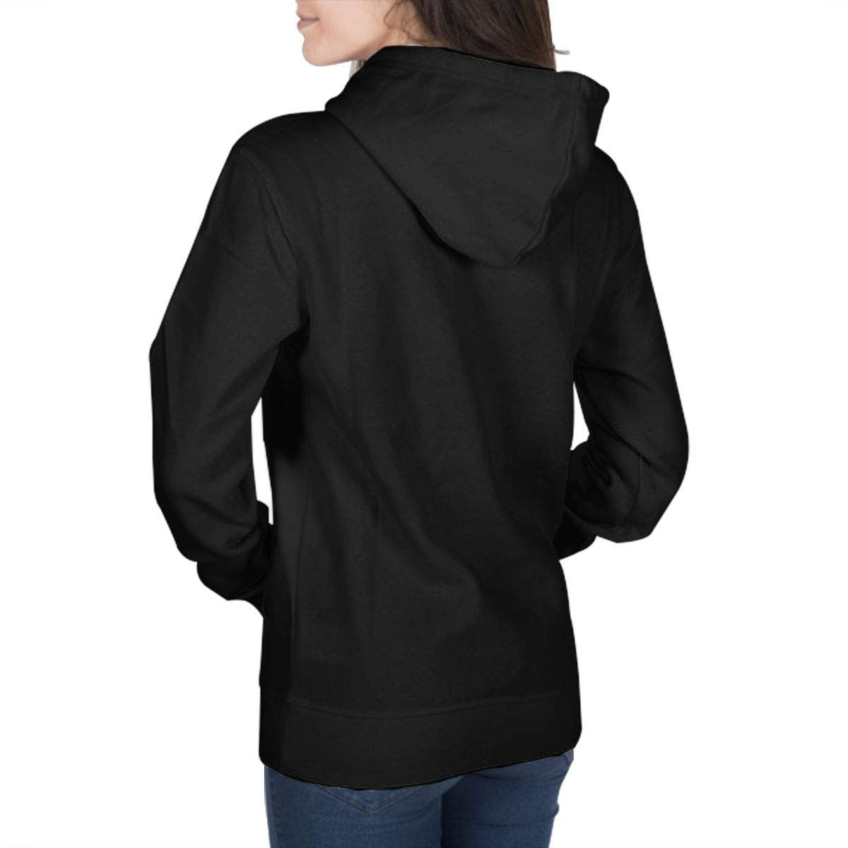 Lutratocro Womens Patchwork Loose Lace Long Sleeve Drawstring Hooded Sweatshirts