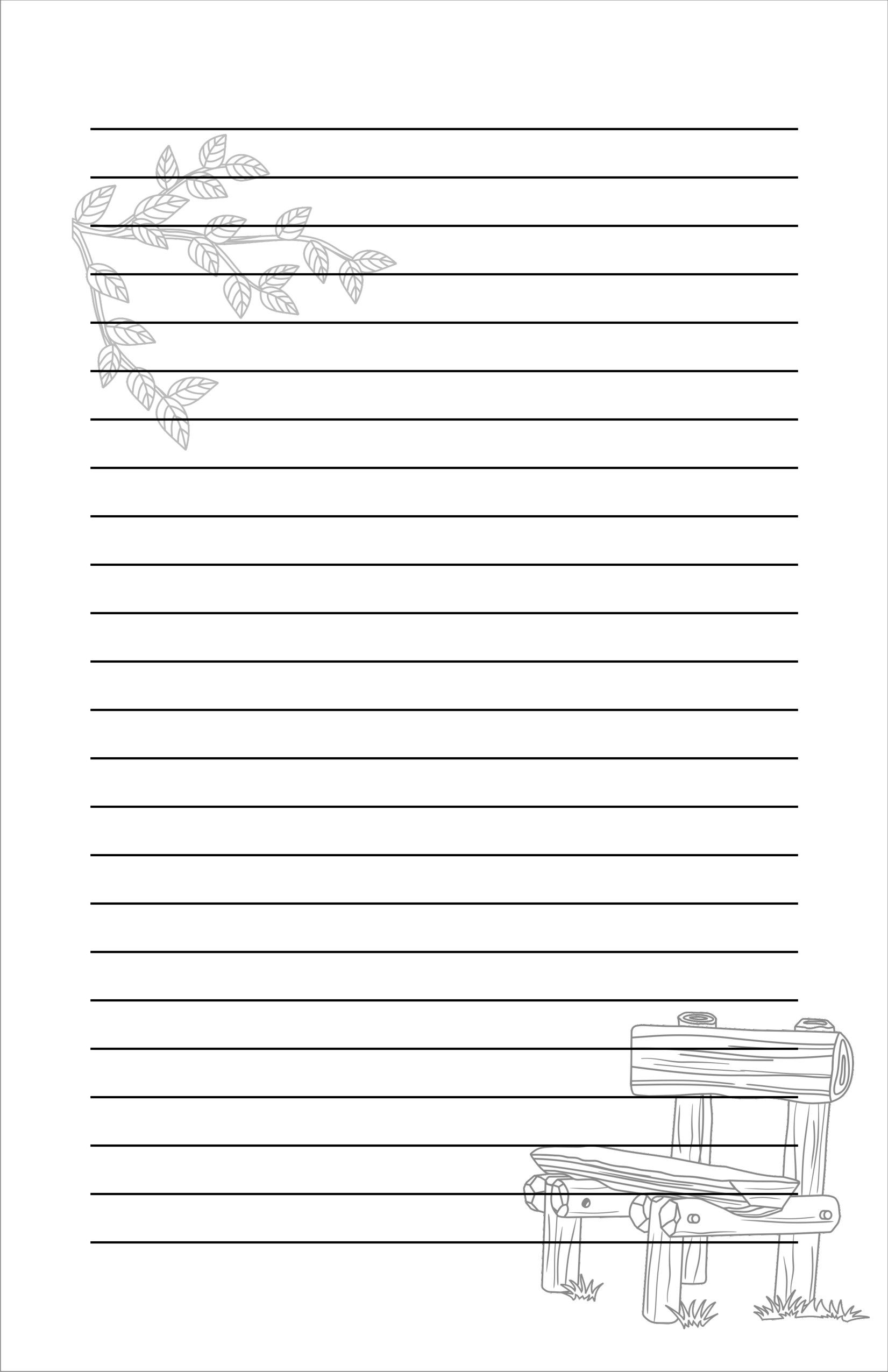 free stationery sample from RicLDP Artworks