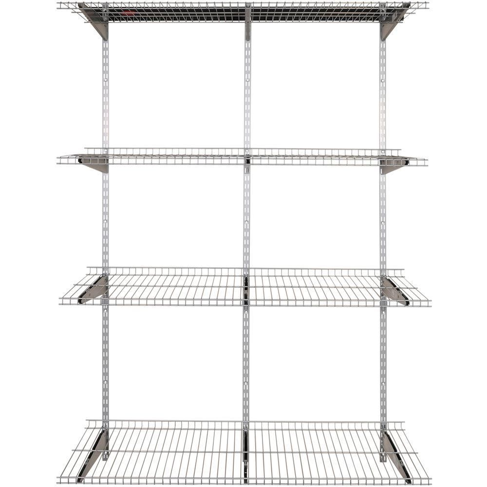Rubbermaid Wire Shelving Silver Home Accessories Wire Shelving Copper Home Accessories