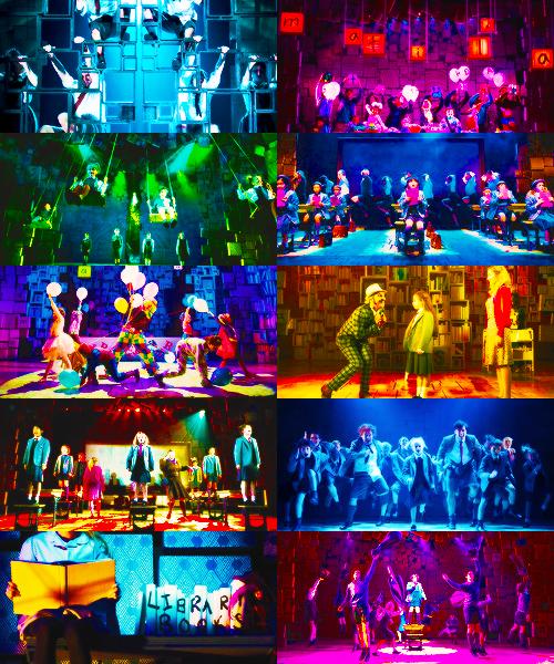 Matilda Love The Stage Design Lighting