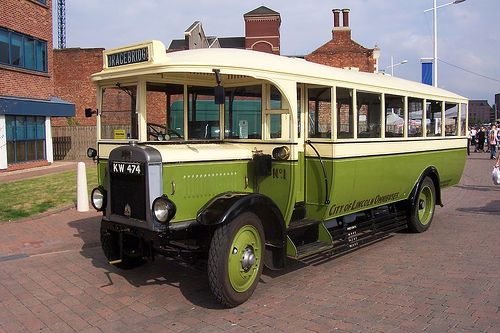 1927 Lincoln Leyland Lion Bus Coach Bedford Buses Leyland