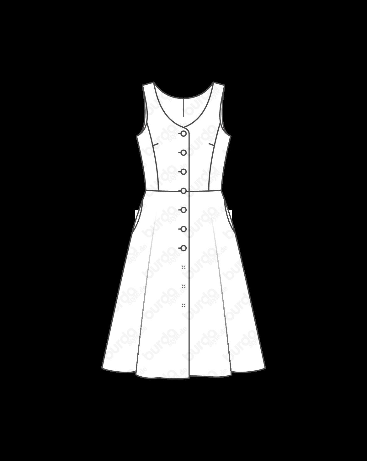 Schnittmuster Kleid 09/2014 #123 | Dress Patterns | Pinterest ...