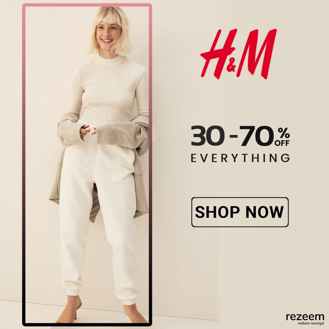 Enjoy 30 To 70 Off H M Sale In 2021 H M Sale Promo Codes Online Shop Now