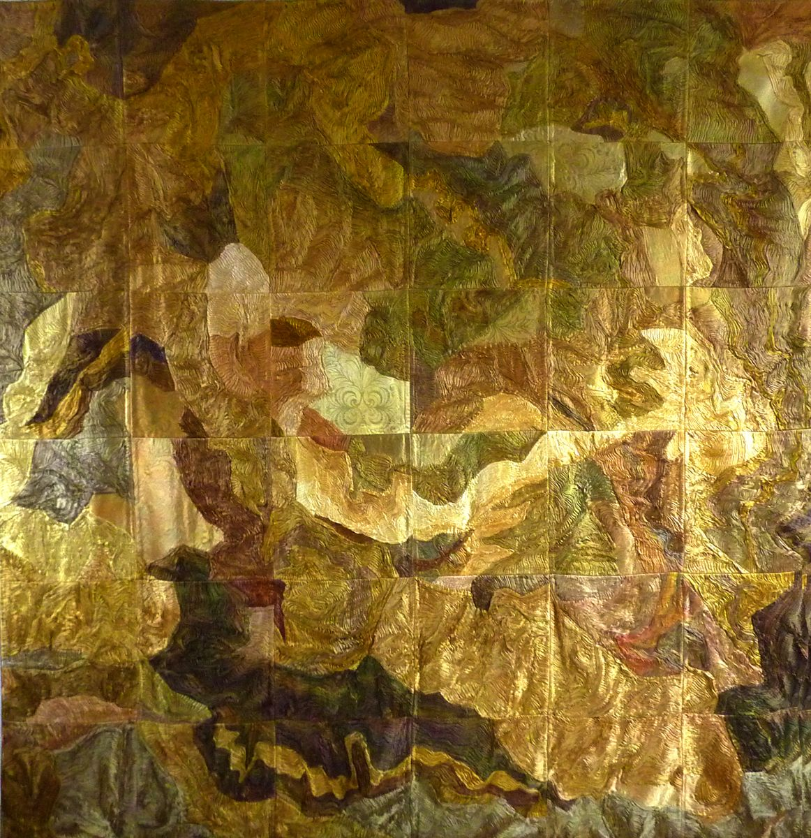 Treasure Trove - very large wall hanging by Patricia Lester in ...