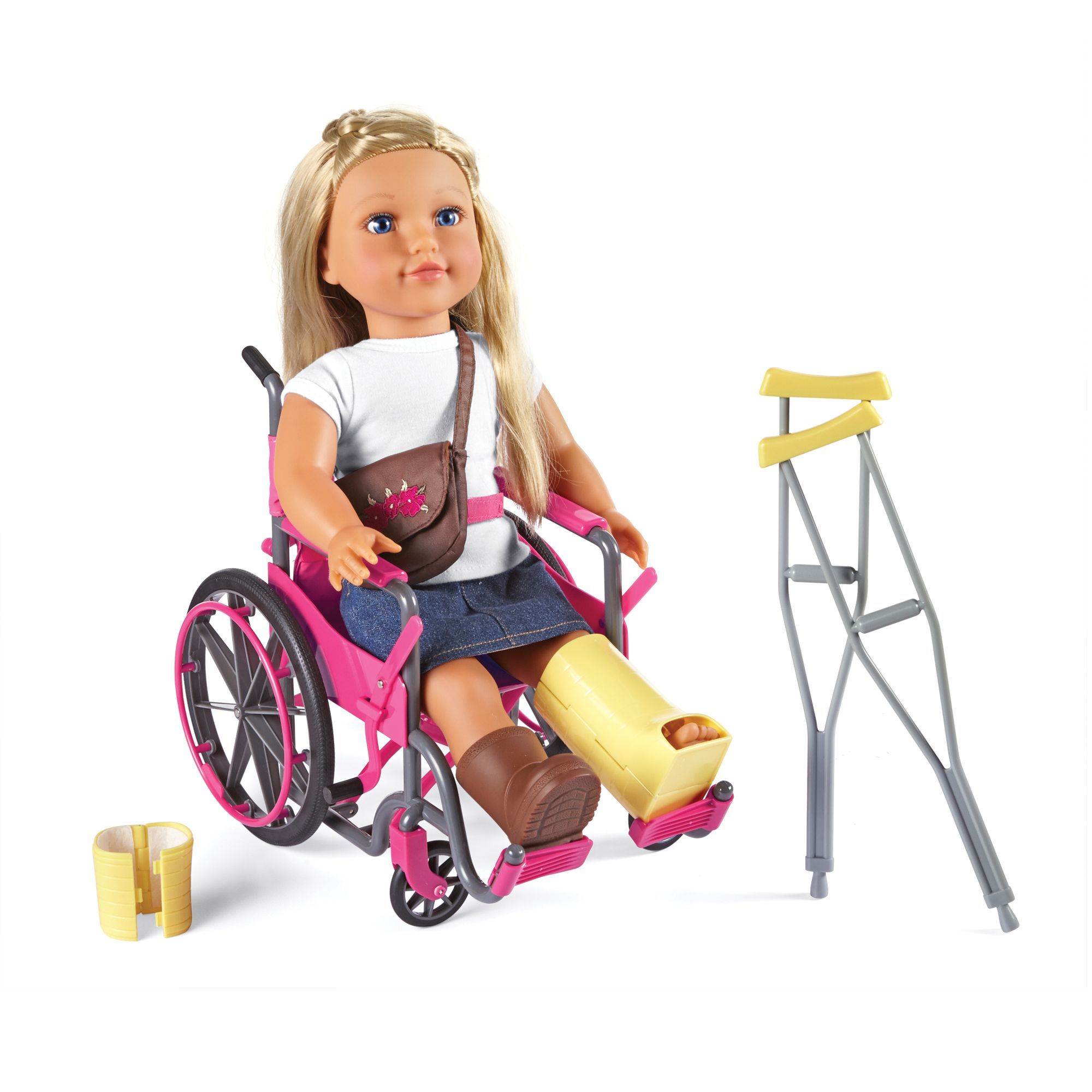 NB Wheelchair & Accessories (w/ bandage) Kids toys